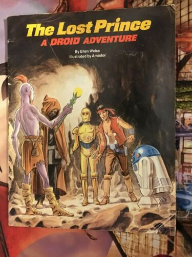 Star Wars: The Lost Prince - A Droid Adventure - Soft Cover -1985