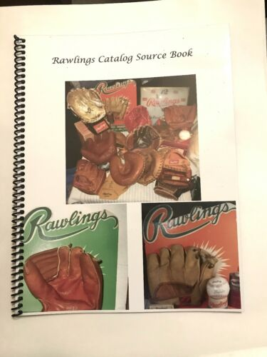 Rawlings Catalog Source Book / Find Your Rawlings Vintage Baseballe Glove