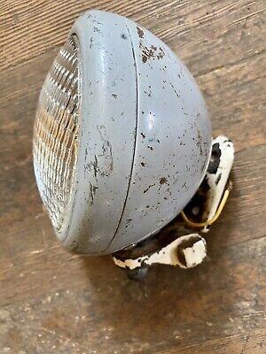 Vintage Tractor Light W Bracket 5 Inch Bulb Ford 9n Ferguson Oliver