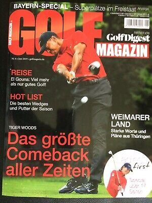 NEU! GOLF MAGAZIN (Partner von Golf Digest) – Nr. 6 Juni