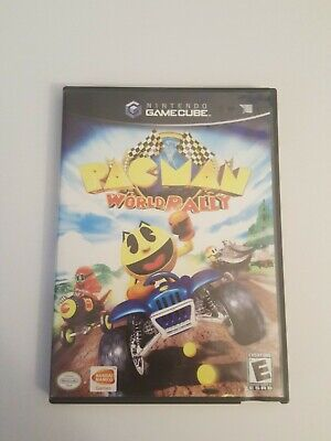 Pac-Man World Rally (Nintendo GameCube, 2006) complete works looks great