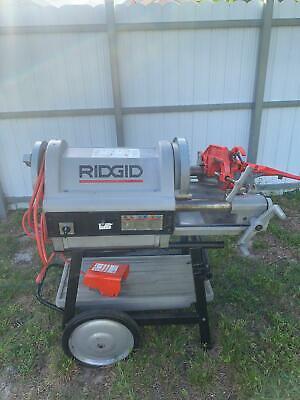 Ridgid Model 1224 12 Inch - 4 Inch Pipe Threading Machine Free Shipping