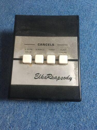 Elka Rhaposy 610. Buttons.