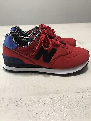 New Balance 574 Classic Red Shoes Womens Size 5