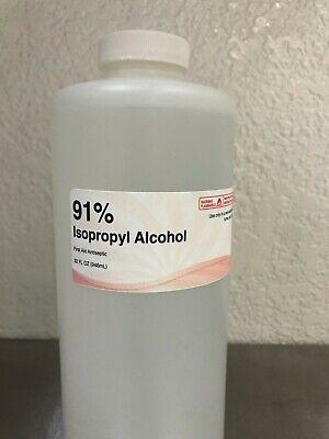 Isopropyl Alcohol 91 - 32 Oz