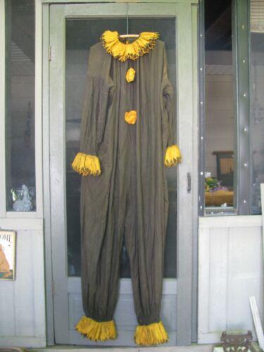 Vintage Halloween Adult Clown Costume