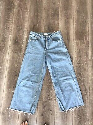 Zara Wide Leg Jeans UK 10