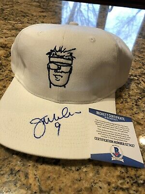 bae806f3 Jim Mcmahon Signed Autographed Chicago Bears Hat Beckett Coa SB XX Champ