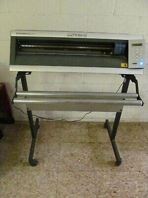 Roland Gx-24 24 Camm-1 Vinyl Cutter Professional Sign Maker W Vinyl Stand