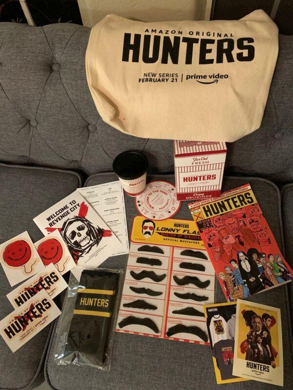 HUNTERS Amazon Prime TV Show Promo Set - PROMO ITEMS. Collectors! Rare!