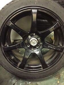 Custom 17s with tires