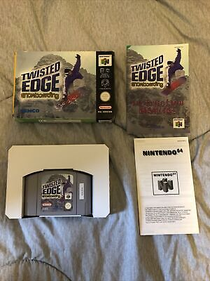 Twisted Edge Snowboarding Nintendo N64 Boxed With Instructions PAL