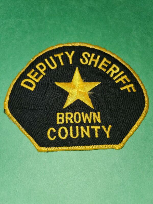 Browm County South Dakota Deputy Sheriff Patch