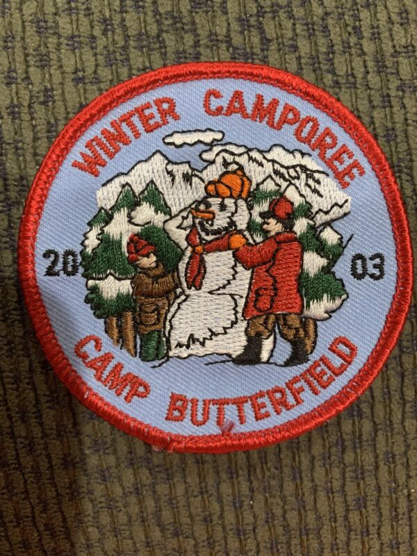 2003 Boy Scout Patch Camp Butterfield