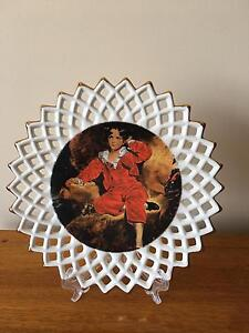 Little Boy Red Display Plate Tallegalla Ipswich City Preview