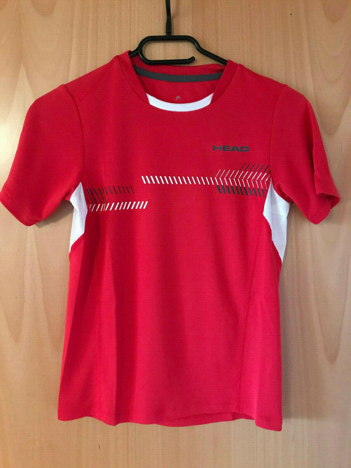 Jungen Tennis T-Shirt von Head, Größe 140, Neu