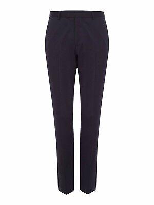 Hugo Boss Lennon Regular Fit Suit Trousers Navy W38 L31 TD171 PP 08