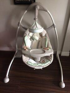 Like new Baby Swing