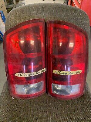 TWO Tail lights 2002 - 2006 Dodge Ram 1500 OEM used