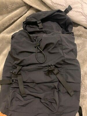 Lululemon Black Rucksack Backpack 20L Inch EUC