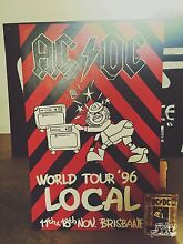 AC/DC world tour framed canvas poster Beerburrum Caloundra Area Preview