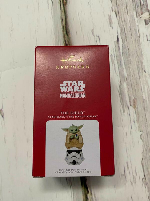 2021 Hallmark Keepsake Baby Yoda Star Wars The Child The Mandalorian Grogu