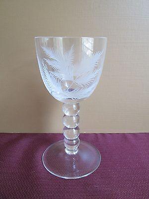 HOME JAMES HIGHLAND WINE GLASS  - 6 3/4
