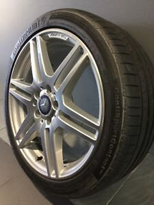 """MERCEDES E250 AMG SPEC 18"""" STAGGERED GENUINE ALLOY WHEELS AND TYRES Carramar Fairfield Area Preview"""