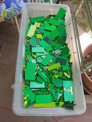 Lego green bulk lot 6lbs