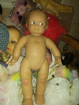 Cameo Effanbee KEWPIE (Jesco)16inch Posable Vinyl Doll
