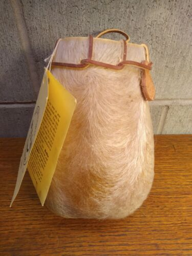 Vintage Saco De Toro Billie Actual Bull Scrotum Carry Bag/Leather