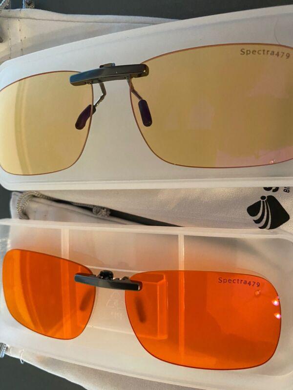 Spectra 479 Clip On Glasses Set Of 2