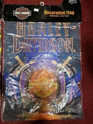 Harley-Davidson Russ Decorative Garden Flags 12