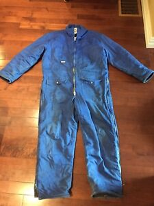 Insulated Work Coveralls XL