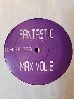 FANTASTIC MAX VOLUME 2 - F PROJECT / FORMATION - WHITE029 - RARE HARDCORE JUNGLE