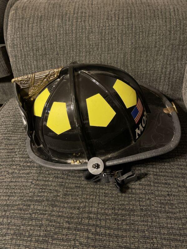 BULLARD FIRE HELMET RETIRED FIRE DOME SERIES HELMET