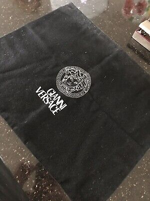 Gianni Versace Brushed Cotton Dust Bag