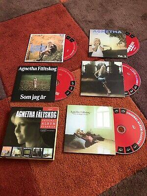 ABBA AGNETHA FALTSKOG SOLO CD ALBUMS BOX SET