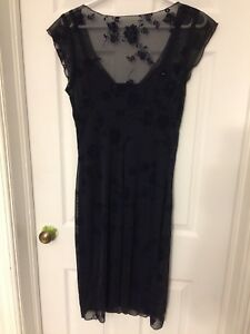 Navy blue dress - size large