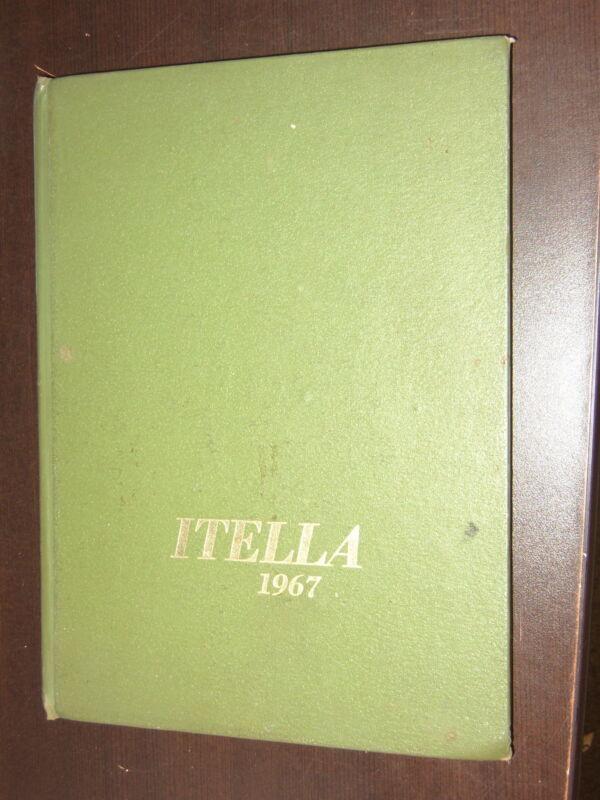 1967 THE ITELLA DOUGLAS MACARTHUR HIGH SCHOOL YEARBOOK SAGINAW MICHIGAN