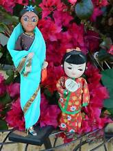 Two Vintage Dolls in National Dress : Deceased Estate Collection Ballajura Swan Area Preview