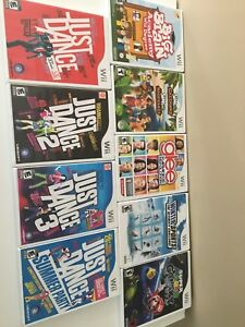wii games 9 for $50 OBO