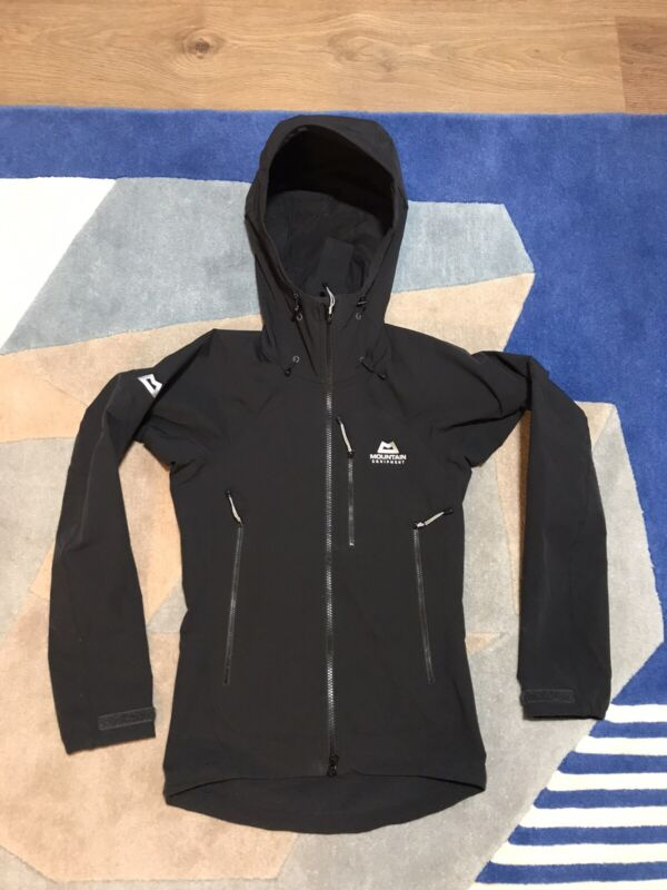 Mountain Equipment Womens Mission Hooded Jacket Size 8 UK Black