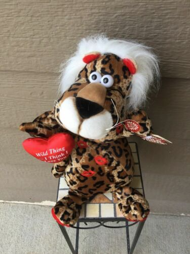 DAN DEE FURRY LION LEOPARD SINGING WILD THING CHEETAH HEARTS LIPS 12""