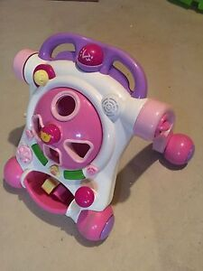 Girls learn to walk toy