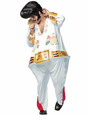 The King Hoopster Halloween Costume Men Rock and Roll Jumpsuit Std Elvis - Halloween Costumes Rock And Roll