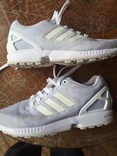 Adidas all white flux Canning Vale Canning Area Preview