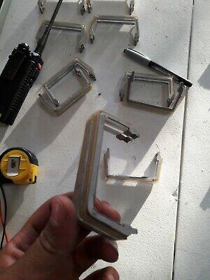 Lot Of 2 CLEAR Whelen Edge Freedom strobe/LED light bar clear lens divider
