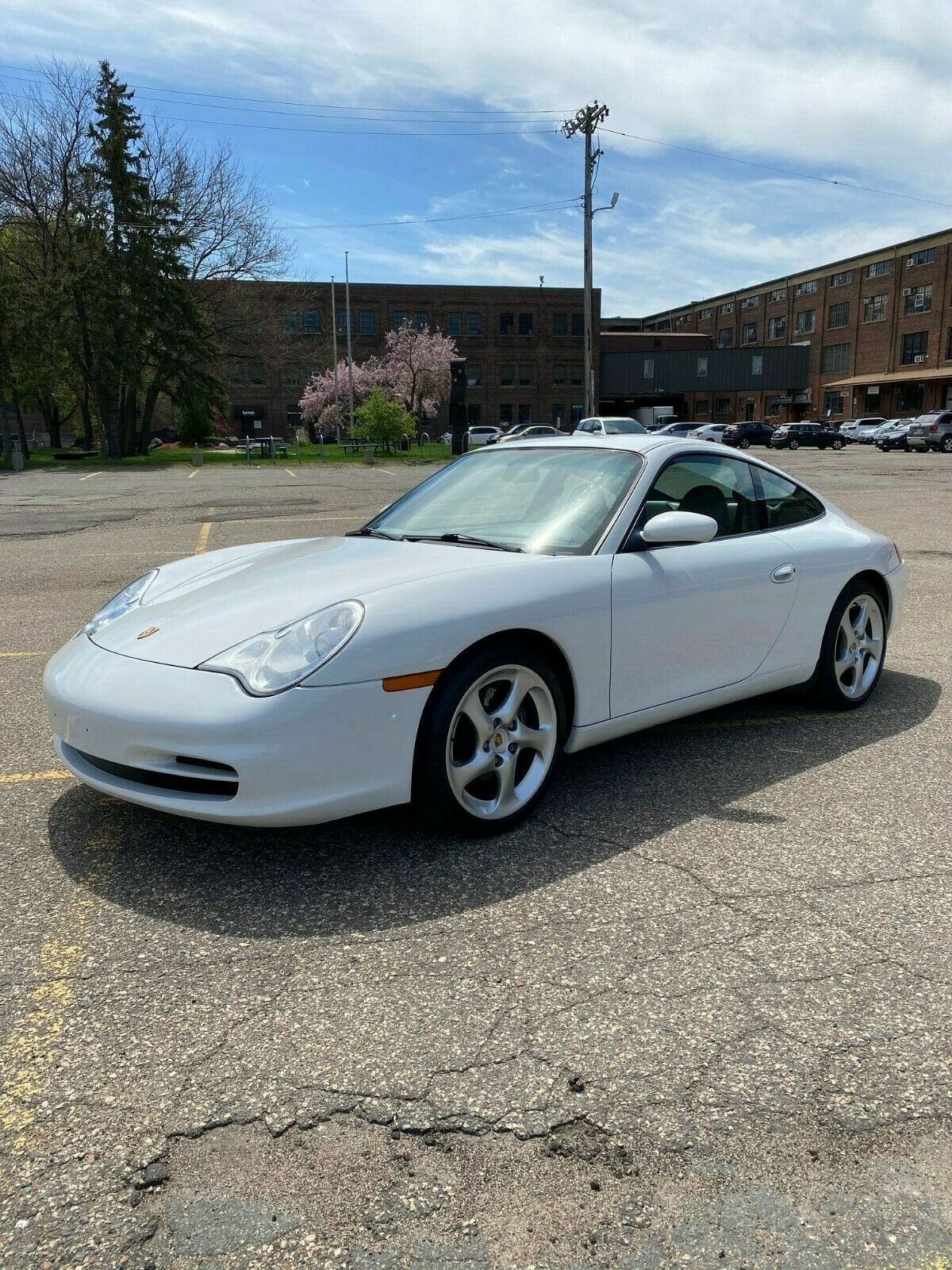 2004 Porsche 911 Carerra Coupe with Six Speed Transmission and service records
