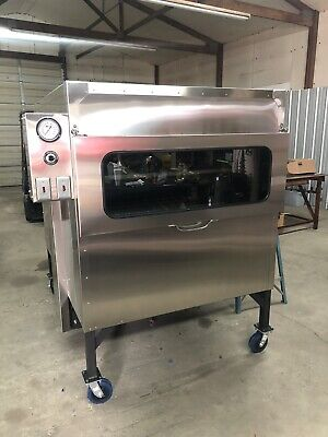 Semo Smokers 48x48 Insulated Rotisserie Look And Cook W This New Glass Door